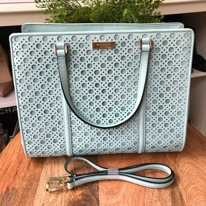 Kate Spade Large Tote Bag•Mint Blue